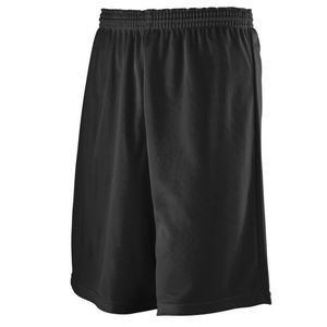 Longer Length Mini Mesh League Shorts
